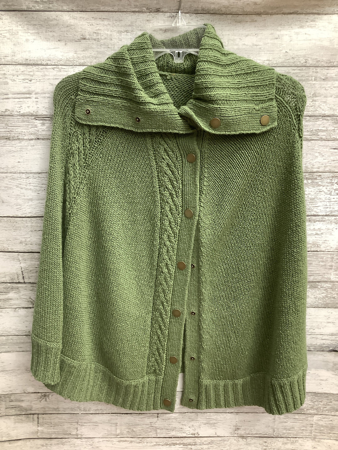 Primary Photo - brand: talbots o , style: shawl , color: green , size: l , sku: 105-3221-18886