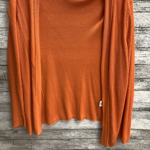 Primary Photo - BRAND: JONES NEW YORK STYLE: SWEATER CARDIGAN LIGHTWEIGHT COLOR: ORANGE SIZE: S SKU: 105-5184-239