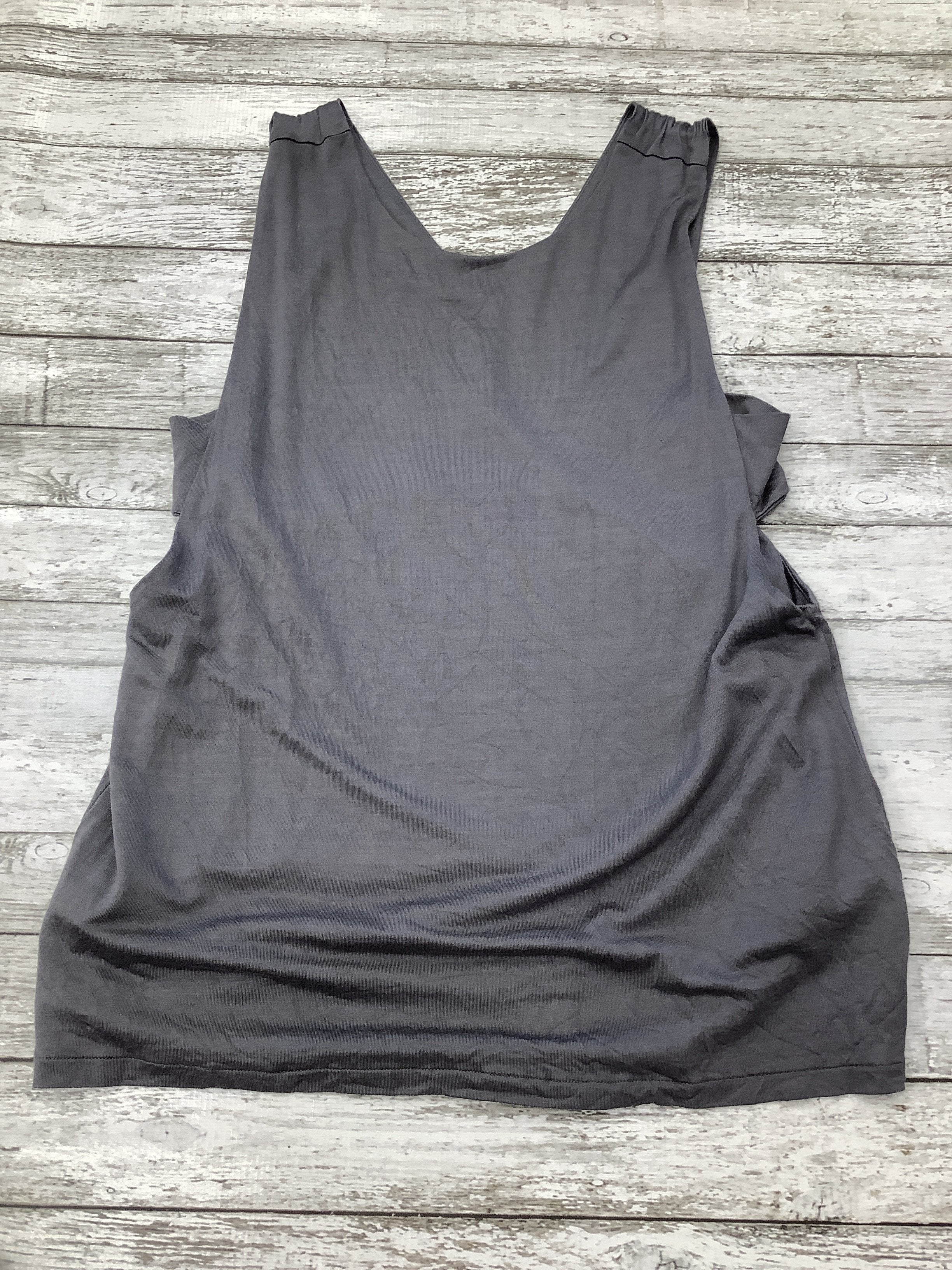 Primary Photo - brand: banana republic , style: top sleeveless , color: grey , size: petite large , sku: 105-2252-104462