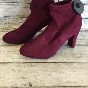 Primary Photo - BRAND: UNISA STYLE: BOOTS ANKLE COLOR: PLUM SIZE: 7.5 SKU: 129-5006-4479