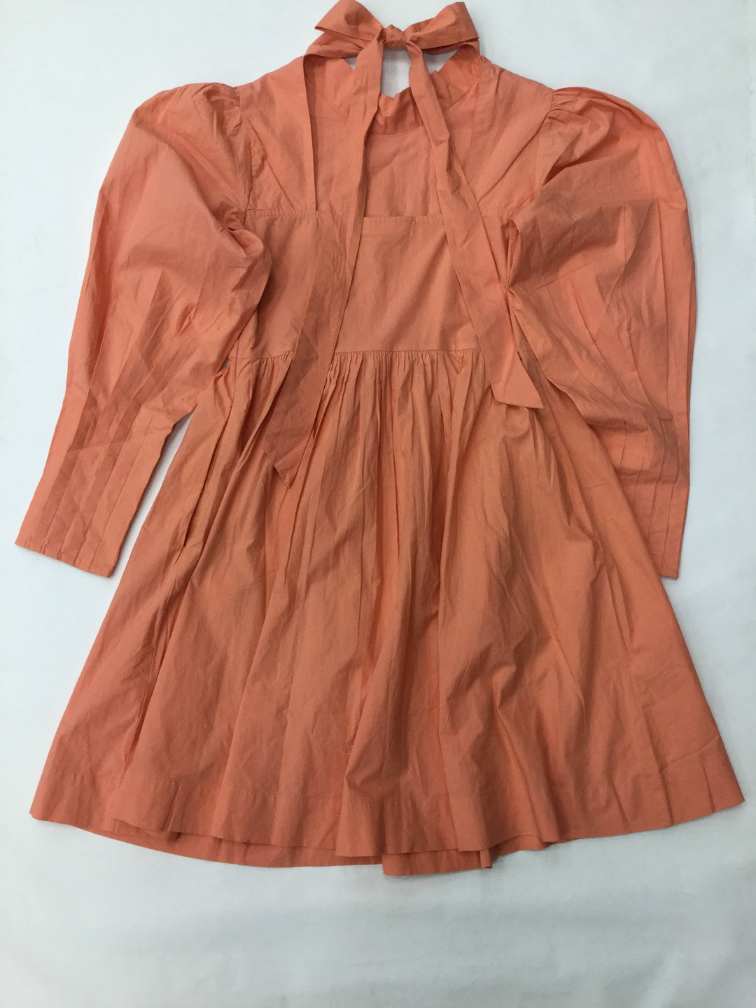 Photo #1 - brand:    cmd , style: dress short long sleeve , color: coral , size: xxs , other info: happy nature - by kate hudson, sku: 125-4893-3195, has a side zipper and pockets