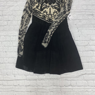 Primary Photo - BRAND: FREE PEOPLE STYLE: DRESS SHORT LONG SLEEVE COLOR: BLACK SIZE: 4 OTHER INFO: NEW! SKU: 125-4628-16191