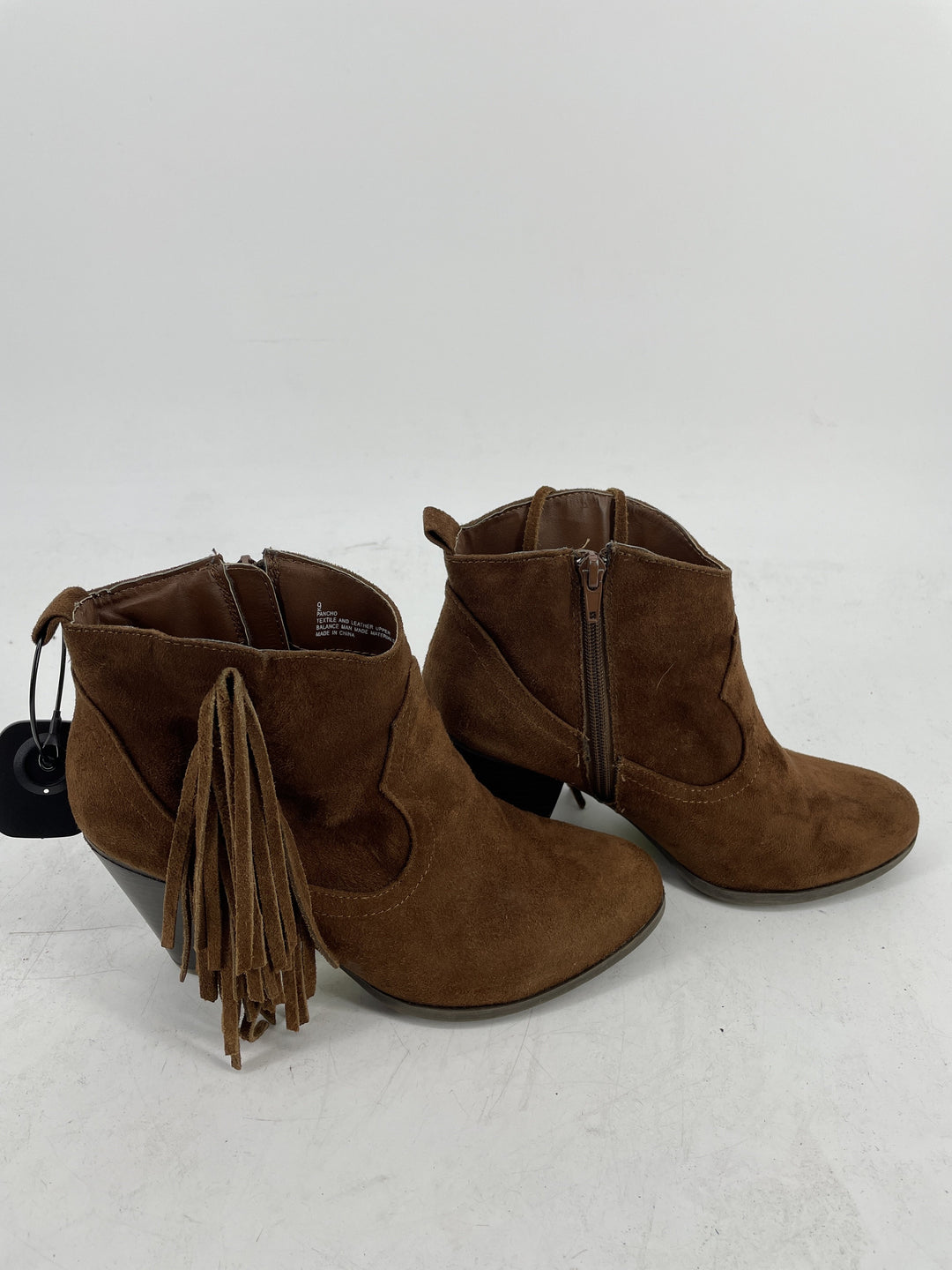 Photo #1 - brand: madden girl , style: boots ankle , color: brown , size: 9 , sku: 128-3212-49035