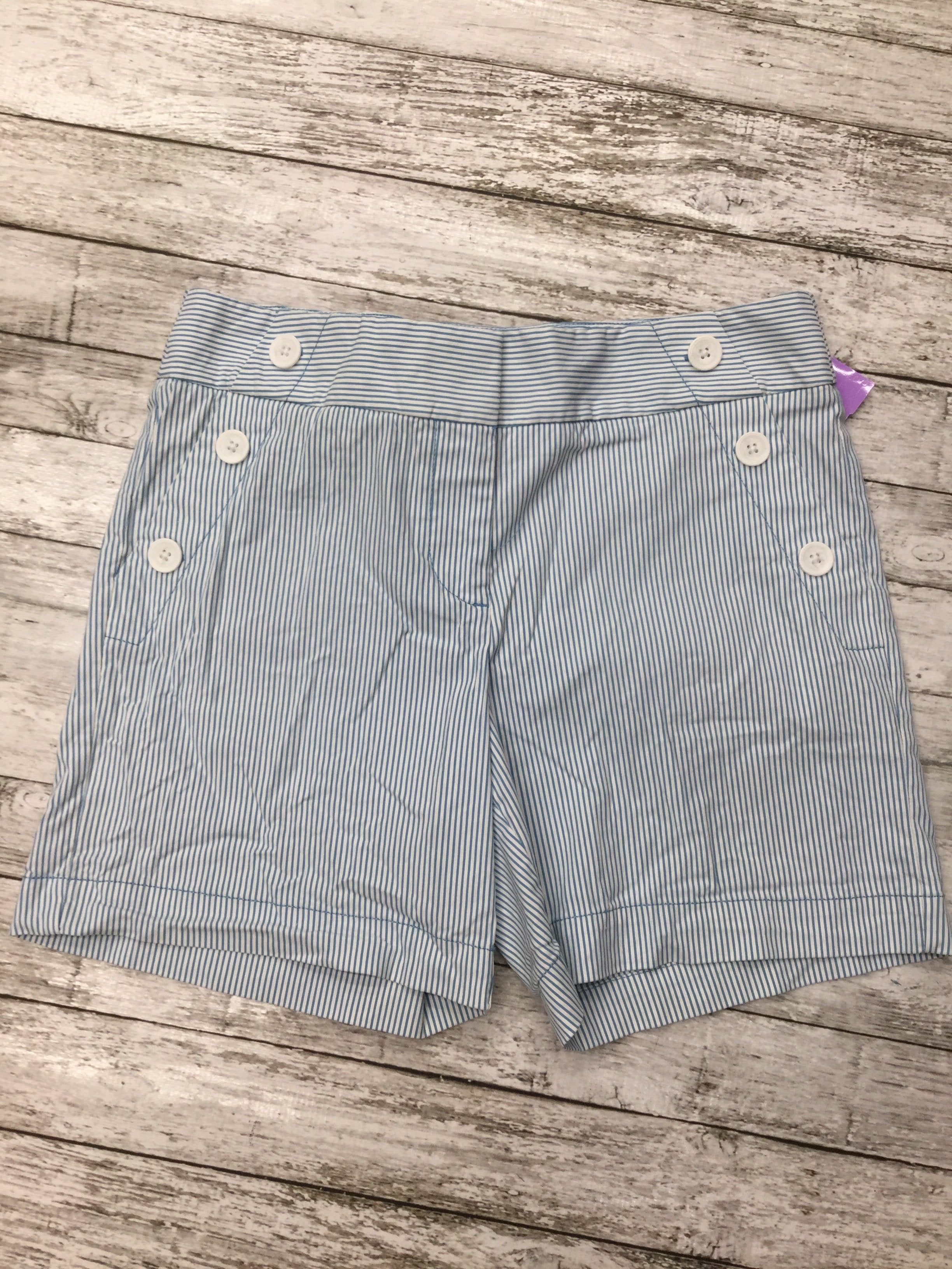 Primary Photo - brand: ann taylor loft , style: shorts , color: blue white , size: 4 , sku: 126-3290-74962