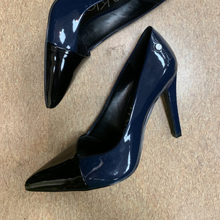 Primary Photo - BRAND: CALVIN KLEIN STYLE: SHOES HIGH HEEL COLOR: NAVY SIZE: 6 OTHER INFO: NEW! SKU: 125-2919-3855