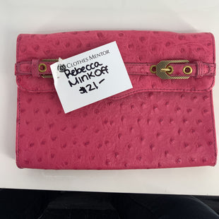 Primary Photo - BRAND: REBECCA MINKOFF STYLE: CLUTCH COLOR: PINK SKU: 128-5084-762