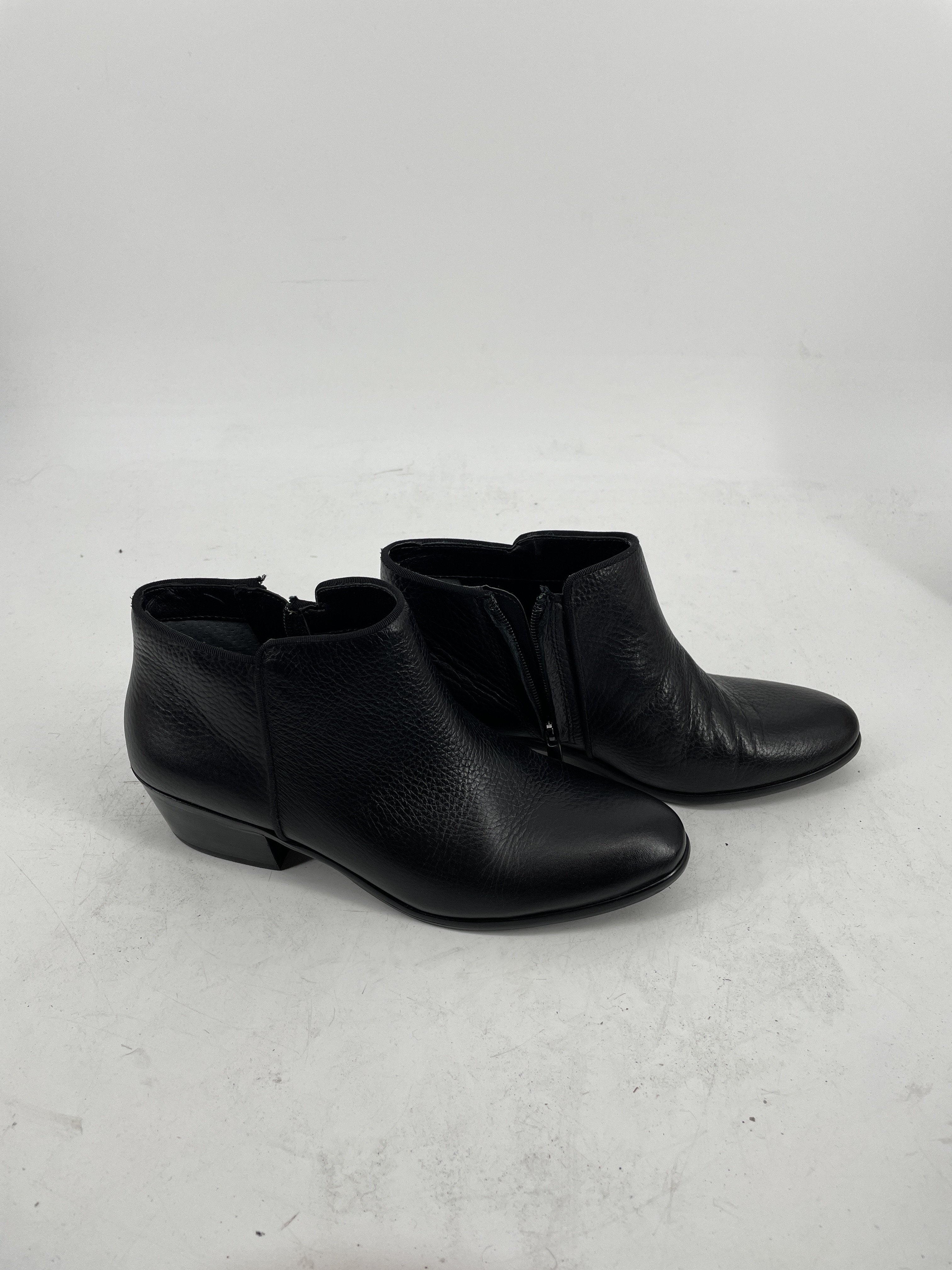 Photo #1 - brand: sam edelman , style: boots ankle , color: black , size: 8.5 , sku: 128-3212-48853