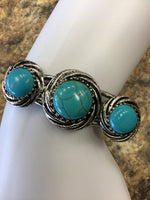 Photo #1 - brand:    cmd , style: bracelet , color: turquoise , sku: 129-3718-8718