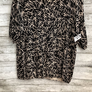 Primary Photo - BRAND: PREMISE STYLE: TOP SHORT SLEEVE COLOR: ANIMAL PRINT SIZE: XL SKU: 105-3221-13837