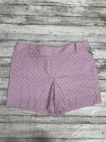Primary Photo - brand: ann taylor loft , style: shorts , color: lilac , size: 10 , sku: 126-3290-68013