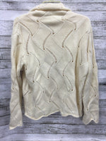 Photo #1 - brand: villager by liz claiborne , style: sweater lightweight , color: cream , size: petite large , sku: 127-3371-50594