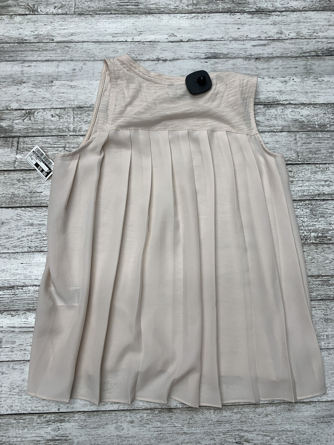 Photo #1 - brand: banana republic o , style: top sleeveless , color: light pink , size: xs , sku: 126-3003-8029