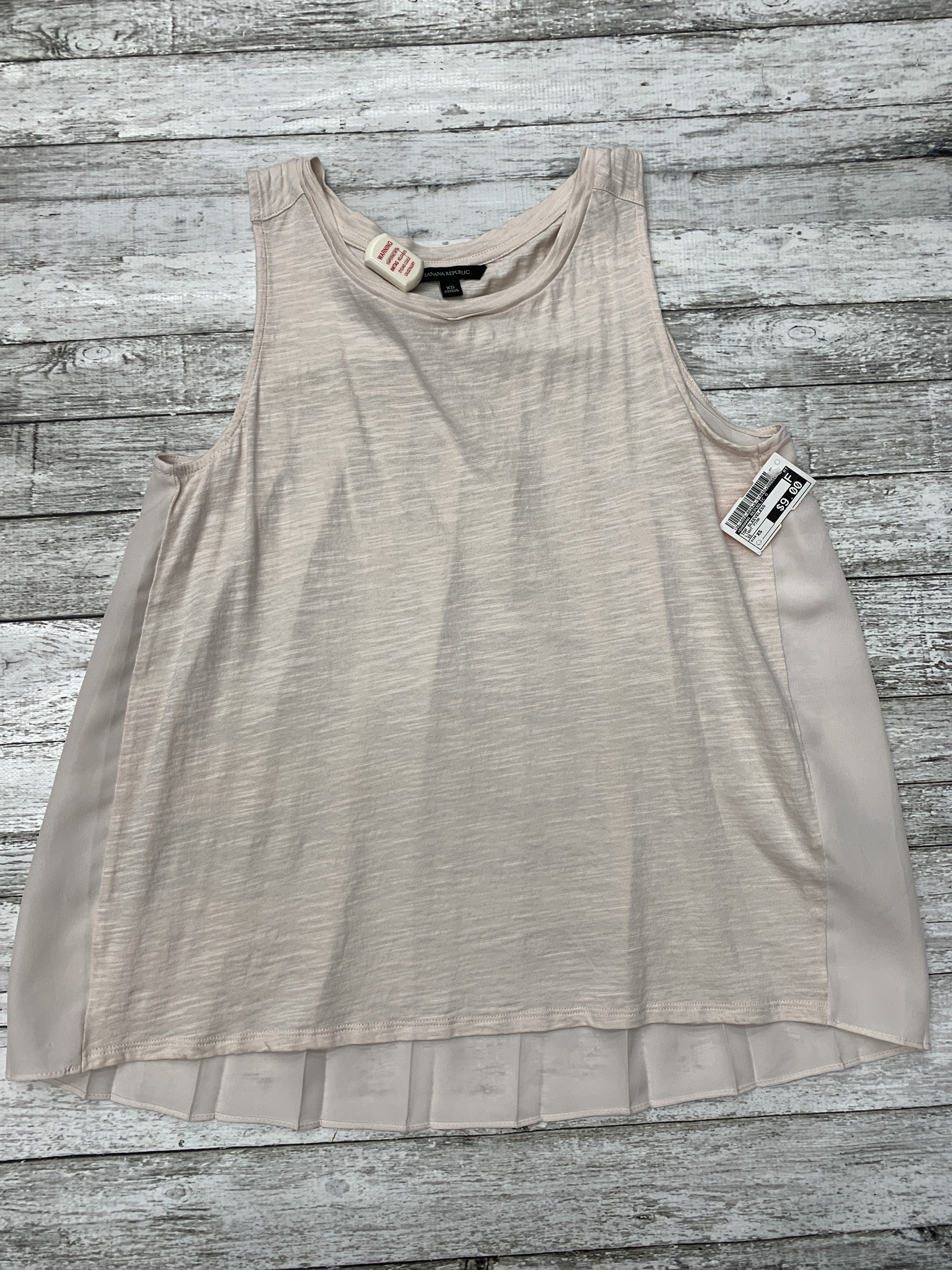 Primary Photo - brand: banana republic o , style: top sleeveless , color: light pink , size: xs , sku: 126-3003-8029