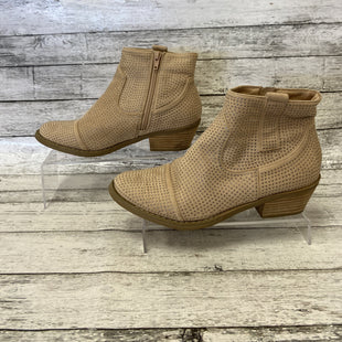 Primary Photo - BRAND: REPORT STYLE: BOOTS ANKLE COLOR: NUDE SIZE: 8.5 SKU: 125-4893-12709
