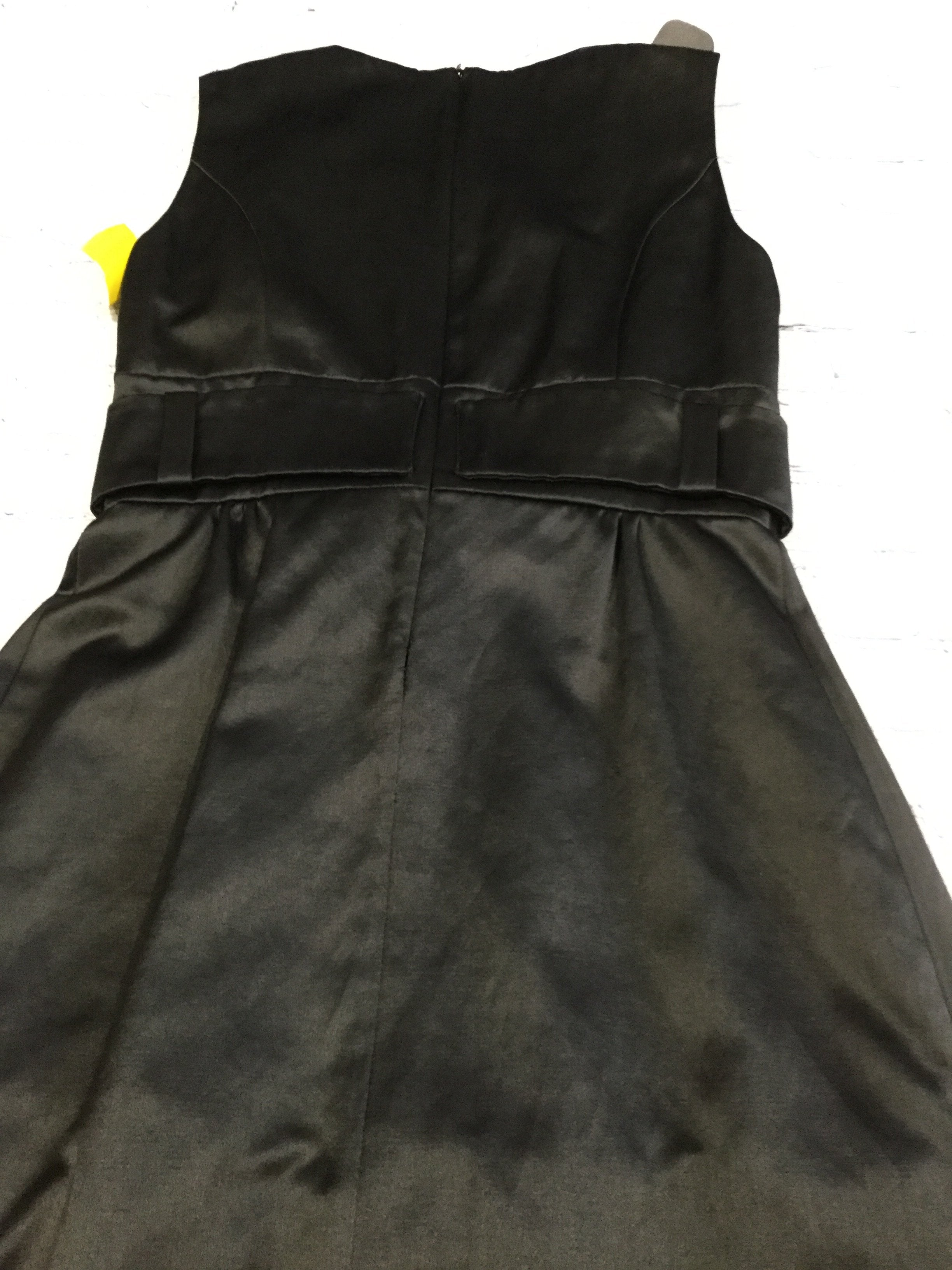 Photo #2 - brand:    cmd , style: dress short sleeveless , color: black , size: 8 , other info: helene berman - , sku: 128-3454-41131