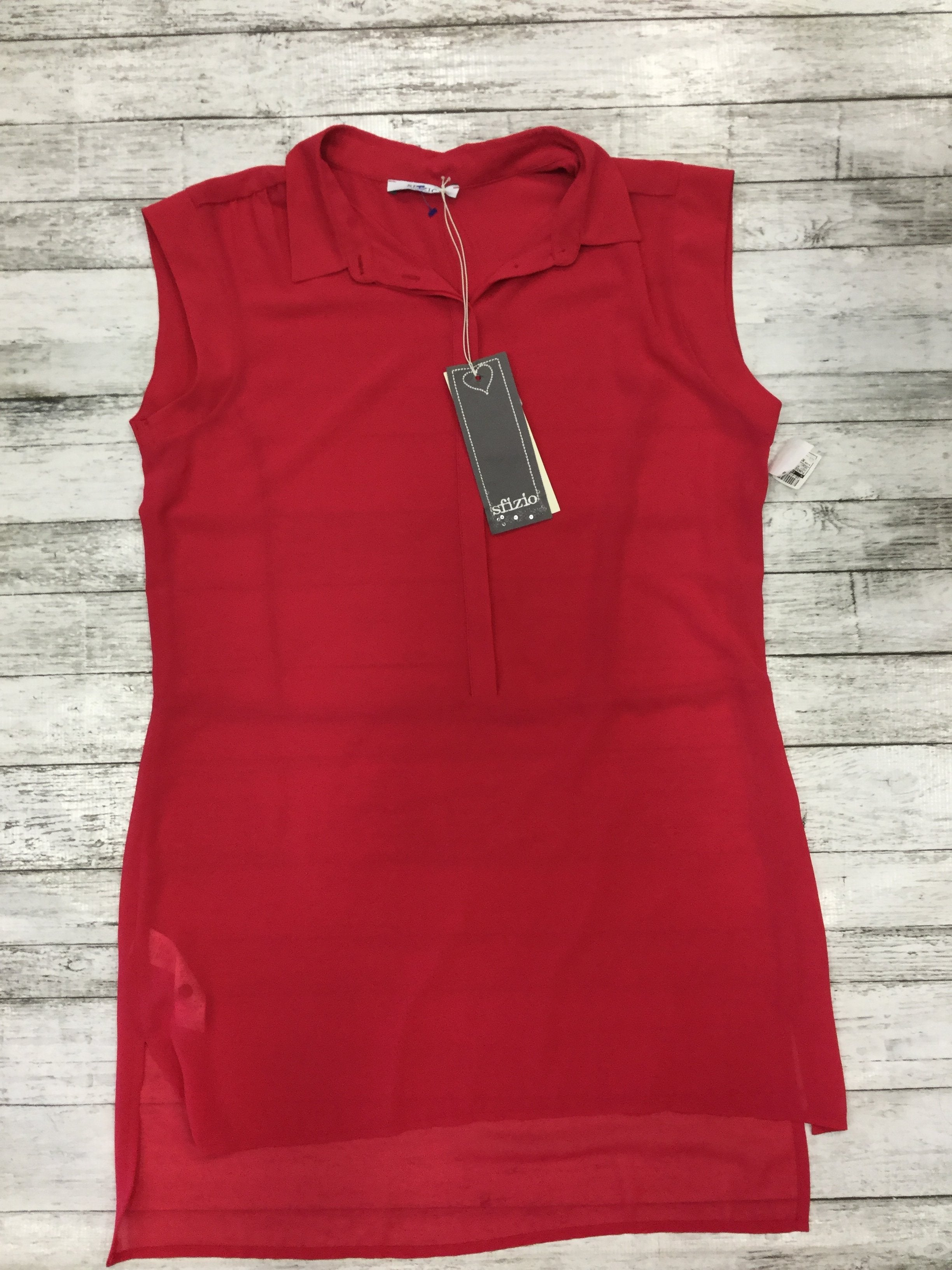 Primary Photo - brand:    cmd , style: tunic short sleeve , color: hot pink , size: xl , other info: new! , sku: 129-4194-10754