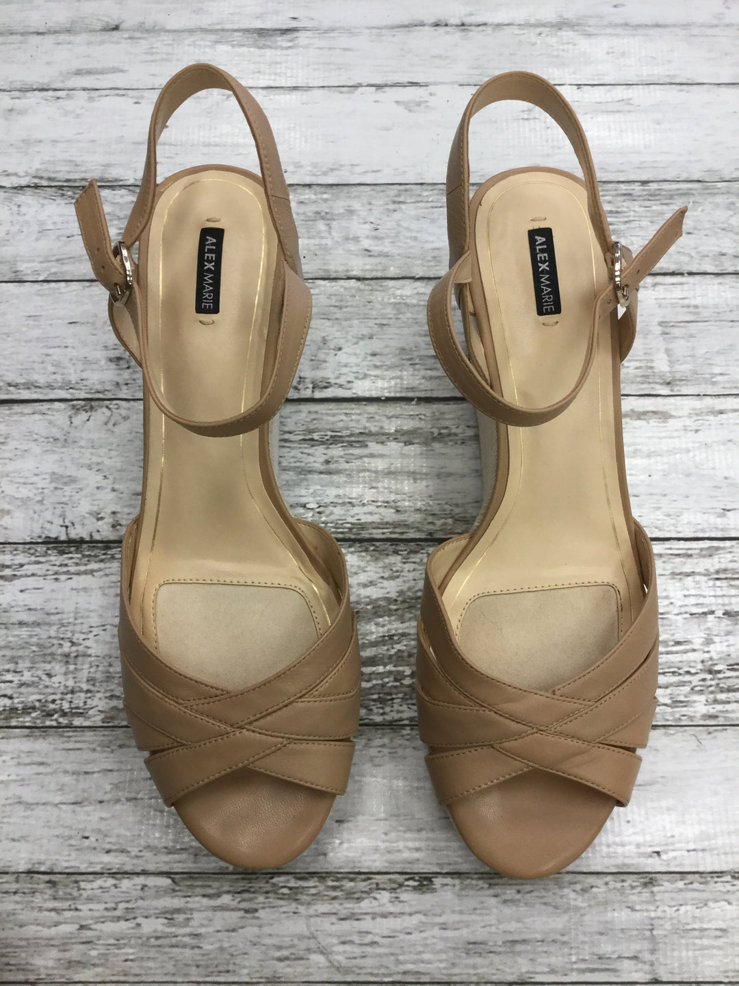 Primary Photo - brand: alex marie , style: sandals high , color: nude , size: 12 , other info: new! , sku: 125-3916-55883