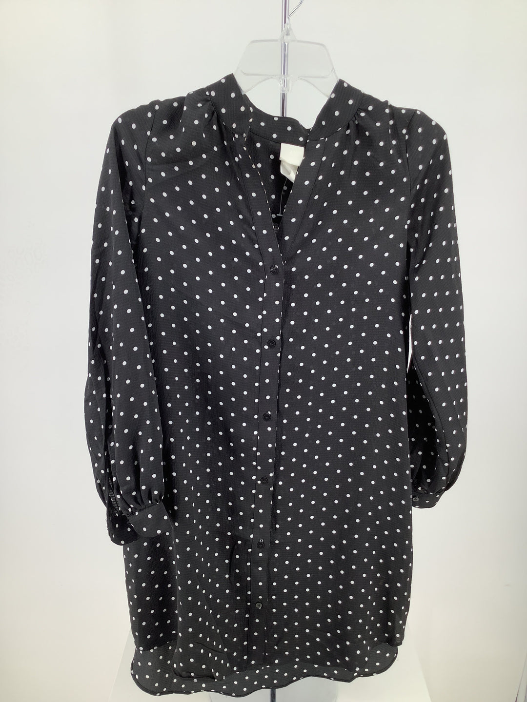 Primary Photo - brand: h&m , style: blouse , color: dots , size: 2 , sku: 105-4189-4521