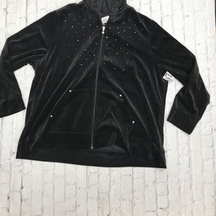 Primary Photo - BRAND: KAREN SCOTT STYLE: ATHLETIC JACKET COLOR: BLACK SIZE: 3X SKU: 126-3290-82775