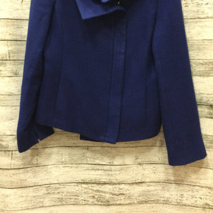 Primary Photo - BRAND: TALBOTS STYLE: JACKET OUTDOOR COLOR: BLUE SIZE: 10 SKU: 129-4796-2444