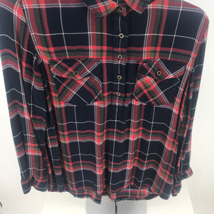 Primary Photo - BRAND: TOMMY HILFIGER STYLE: TOP LONG SLEEVE COLOR: PLAID SIZE: S SKU: 105-4189-2924