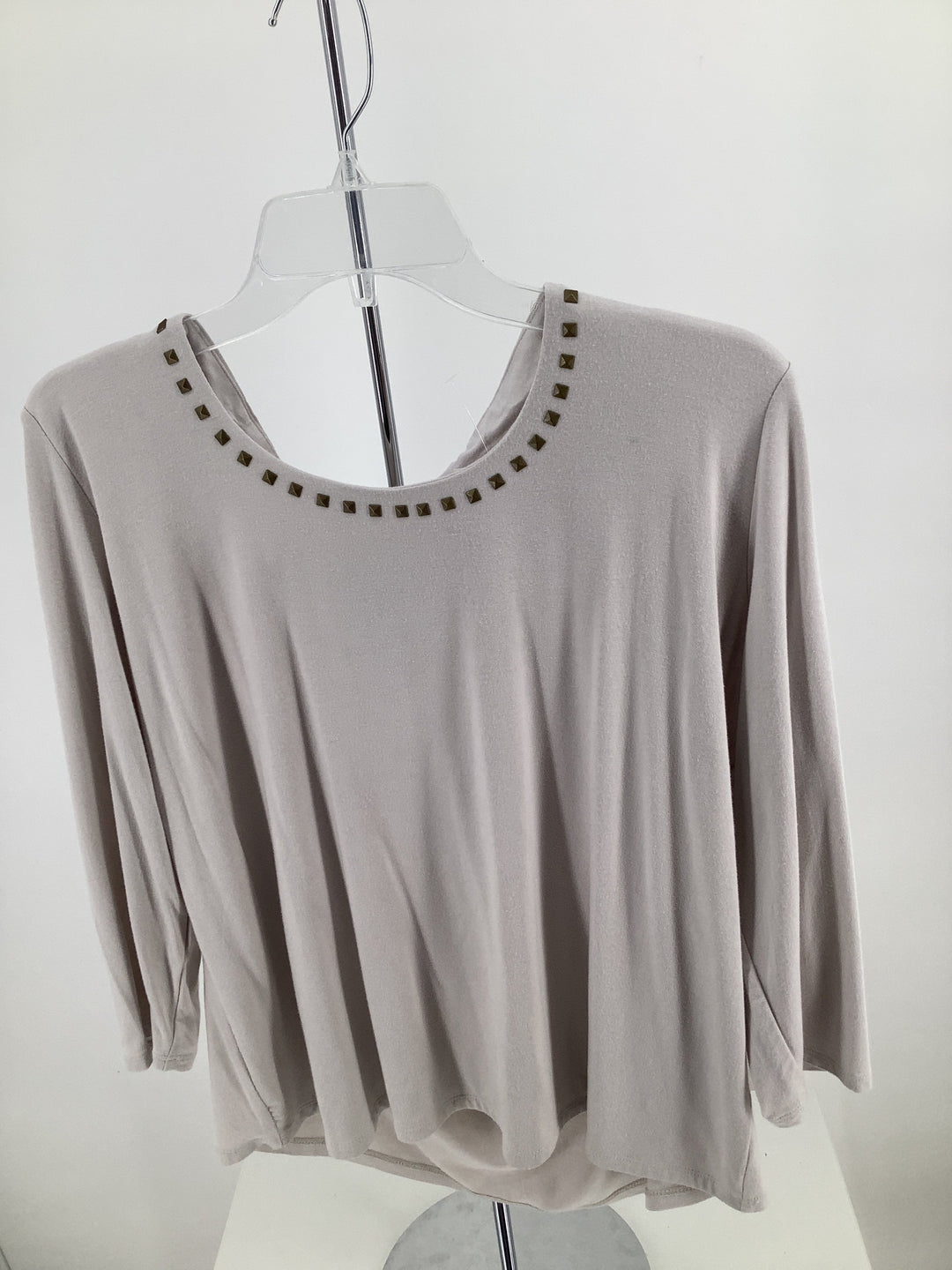 Primary Photo - brand: grace , style: top long sleeve , color: off white , size: 1x , sku: 105-4189-1865