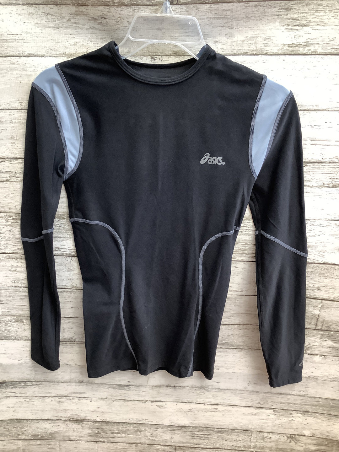 Primary Photo - brand: asics , style: top long sleeve basic , color: black , size: m , sku: 105-3221-15680
