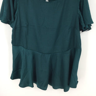 Primary Photo - BRAND: TORRID STYLE: TOP SHORT SLEEVE COLOR: TEAL SIZE: L OTHER INFO: NEW! SKU: 128-4287-54923