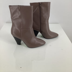 Primary Photo - BRAND: CHRISTIAN SIRIANO STYLE: BOOTS ANKLE COLOR: TAUPE SIZE: 6.5 SKU: 105-4189-563
