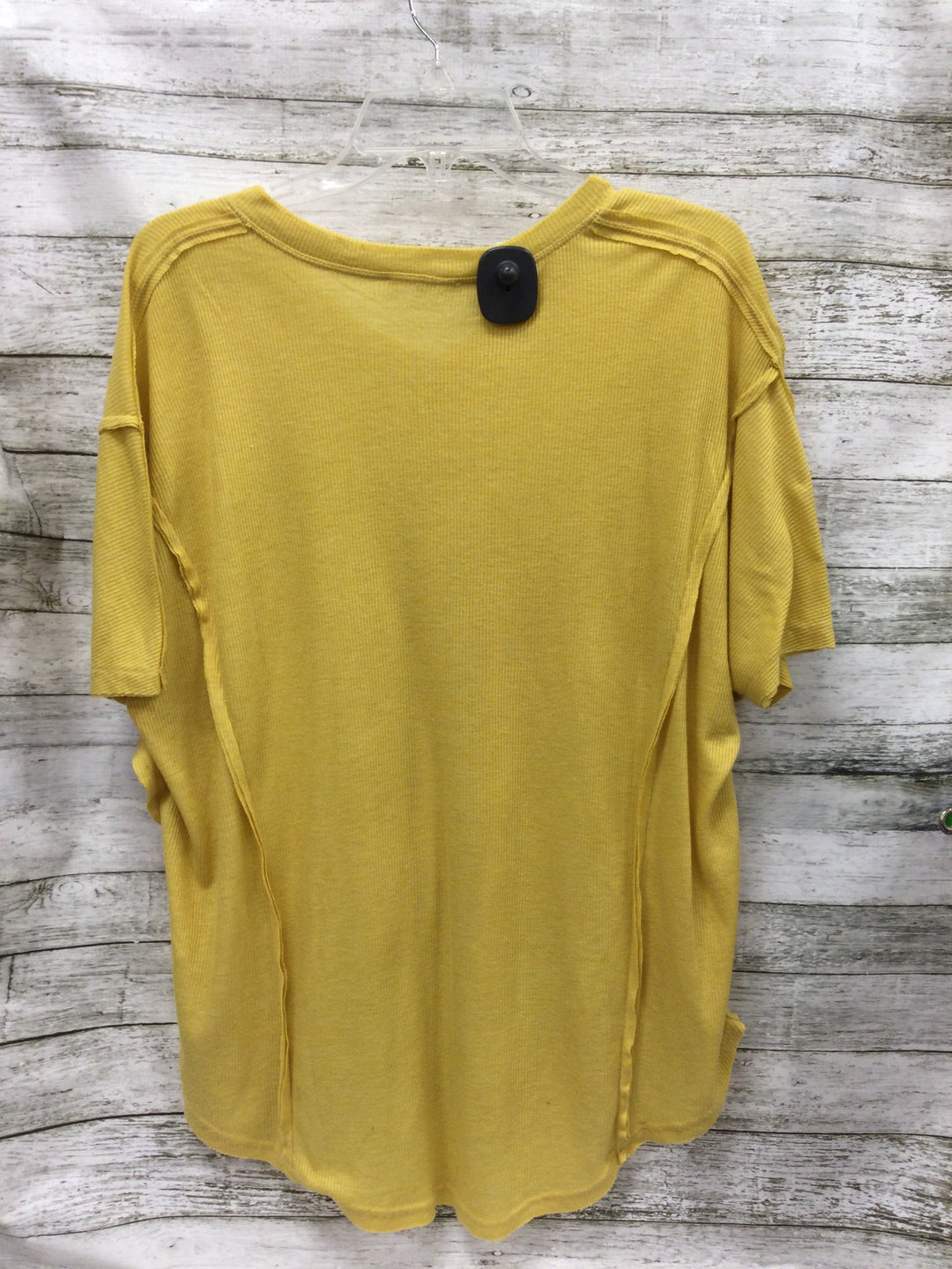 Photo #1 - brand: easel , style: top short sleeve , color: mustard , size: s , sku: 127-4876-12478