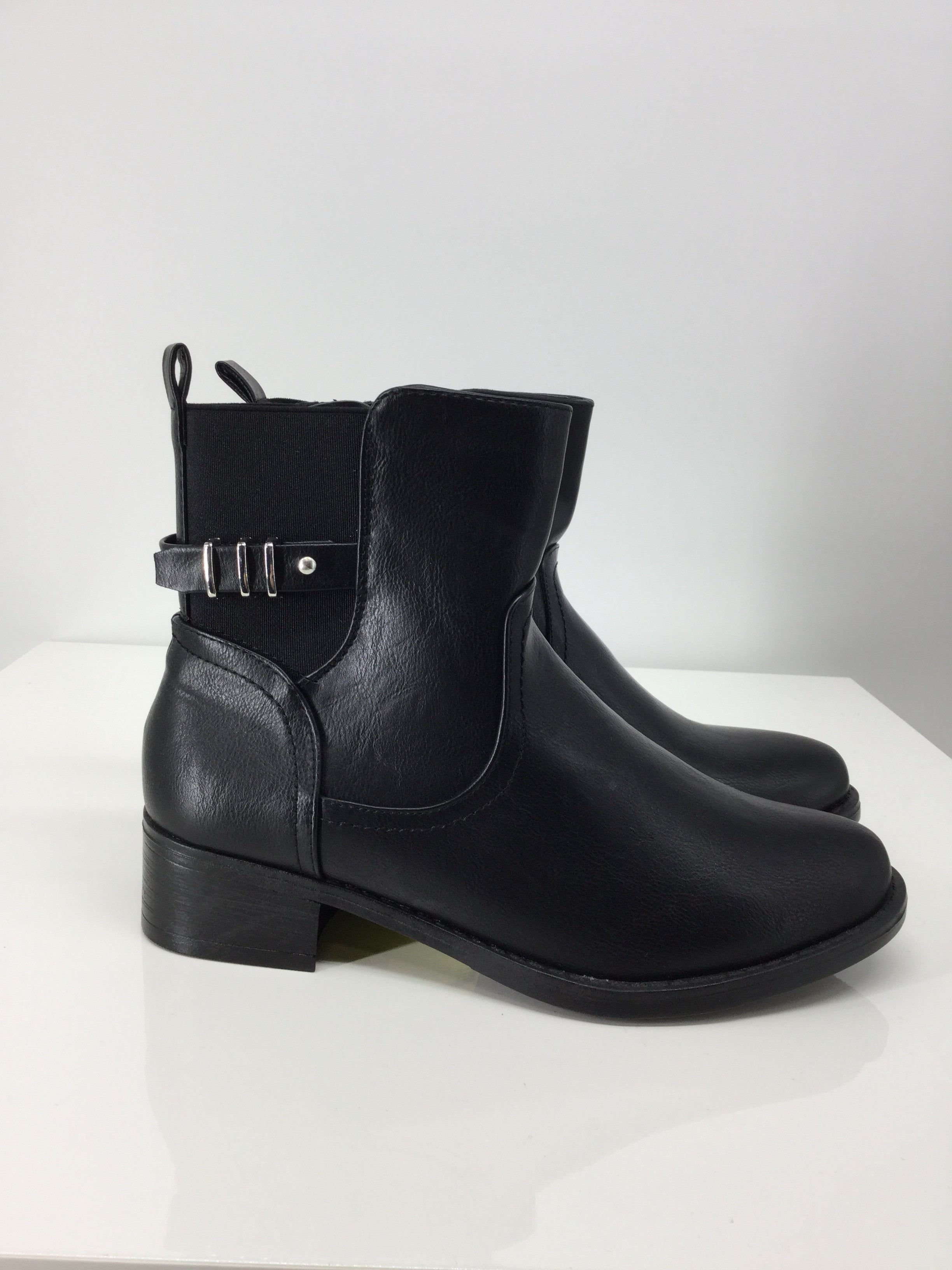 Primary Photo - brand: catherines , style: boots ankle , color: black , size: 8 , sku: 129-4748-4120