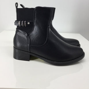 Primary Photo - BRAND: CATHERINES STYLE: BOOTS ANKLE COLOR: BLACK SIZE: 8 SKU: 129-4748-4120