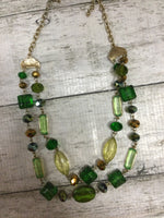 Primary Photo - brand:    cmd , style: necklace , color: green , sku: 129-2252-11892