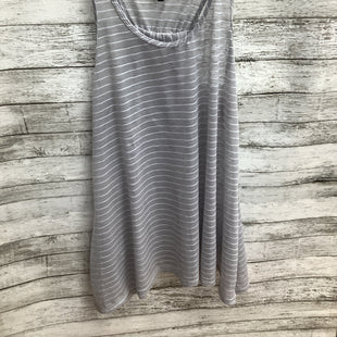 Primary Photo - BRAND: NEW DIRECTIONS STYLE: TOP SLEEVELESS COLOR: GREY WHITE SIZE: M SKU: 105-5184-1775