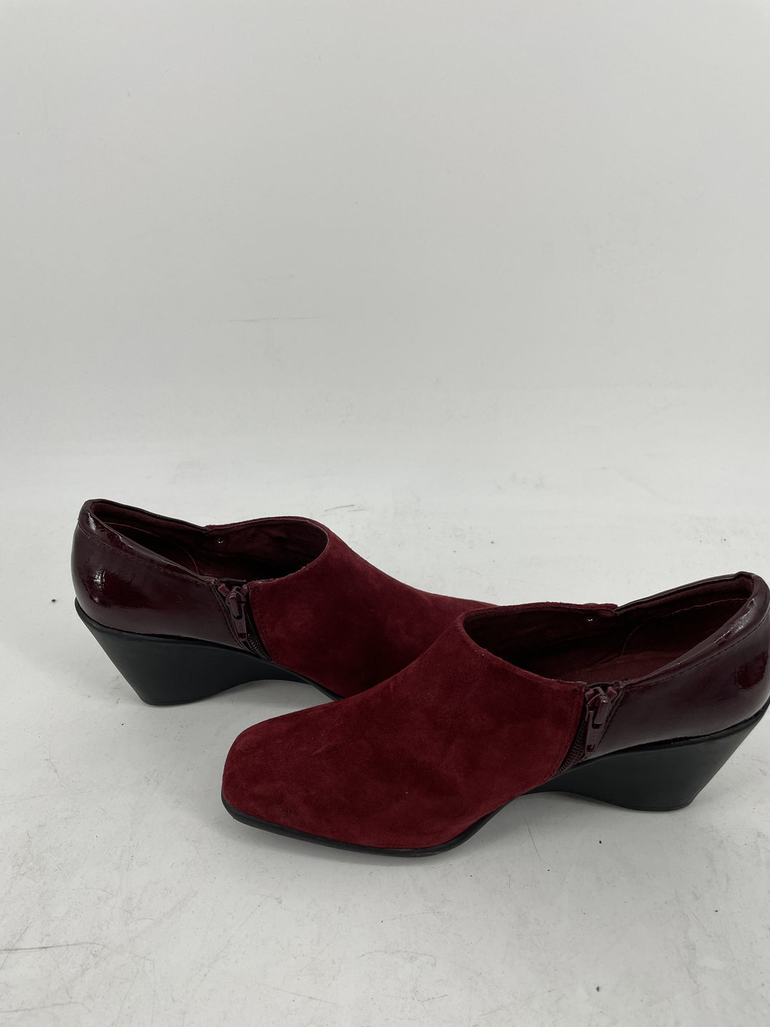 Photo #2 - brand: white mountain , style: shoes low heel , color: maroon , size: 8 , other info: new! , sku: 128-3212-49071