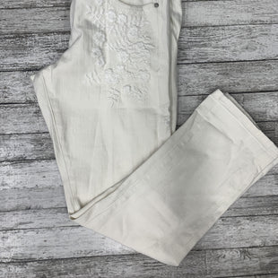 Primary Photo - BRAND: PILCRO STYLE: ANKLE PANT COLOR: IVORY SIZE: 8 SKU: 126-3290-77613