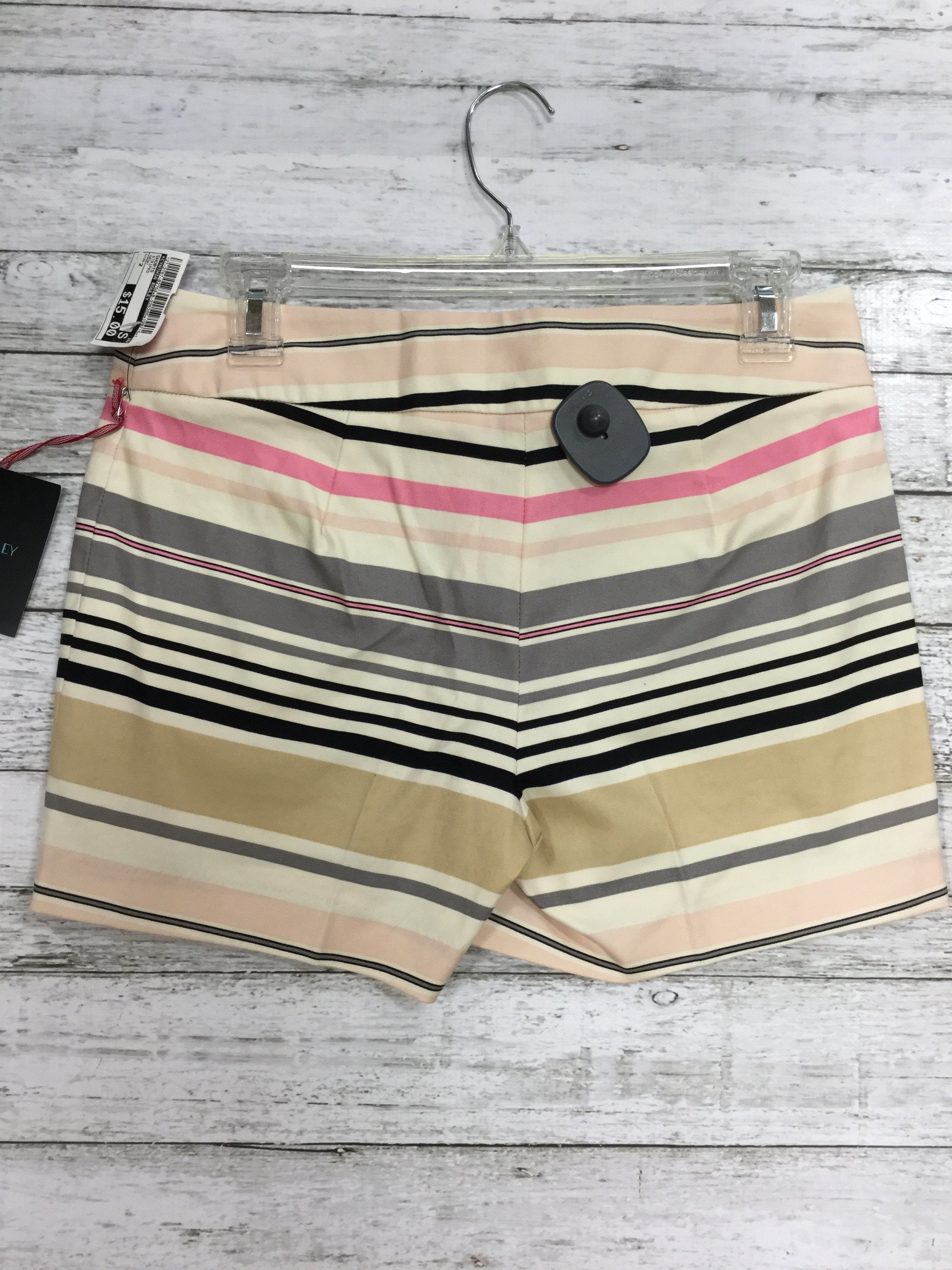 Photo #1 - brand: cynthia rowley , style: shorts , color: striped , size: 2 , other info: new! , sku: 127-2767-82750