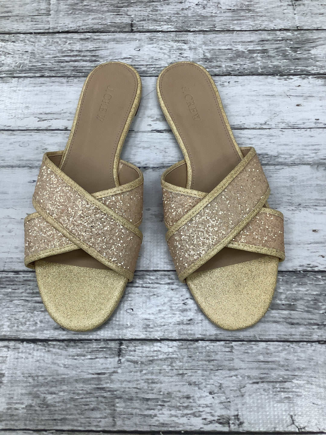Primary Photo - brand: j crew o , style: sandals , color: yellow , size: 8.5 , sku: 105-4189-677