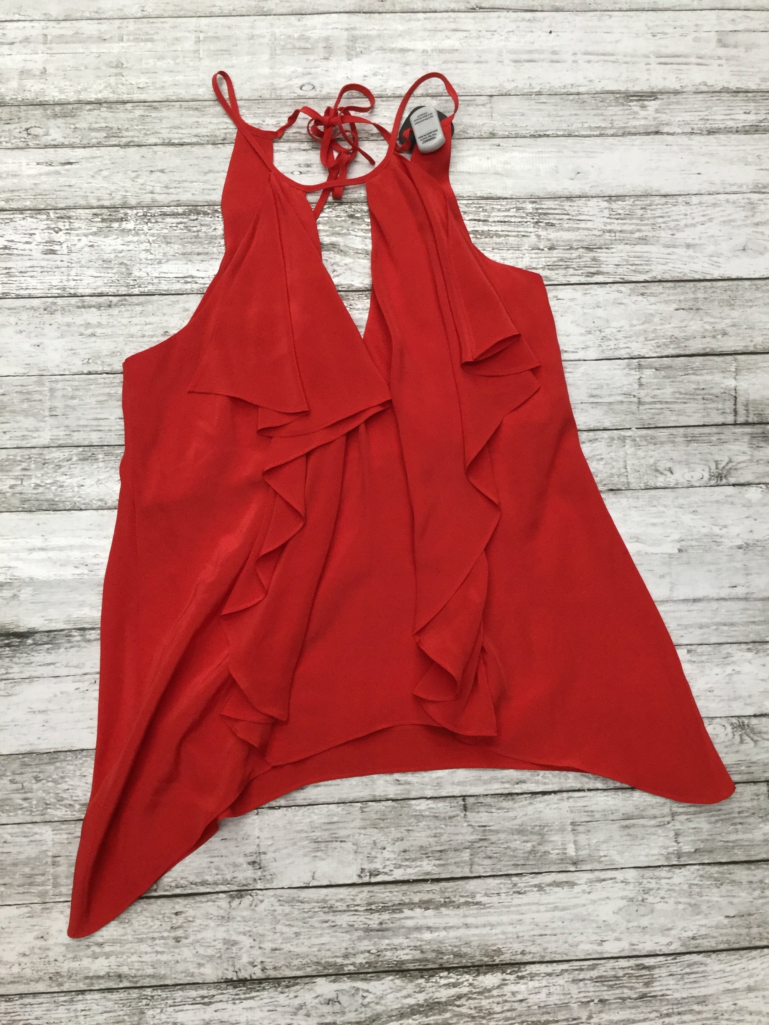 Primary Photo - brand: bcbgmaxazria , style: top sleeveless , color: red , size: xs , sku: 126-2057-5501