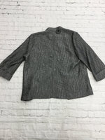 Photo #1 - brand: peck and peck , style: jacket outdoor , color: grey , size: l , sku: 125-4655-4698