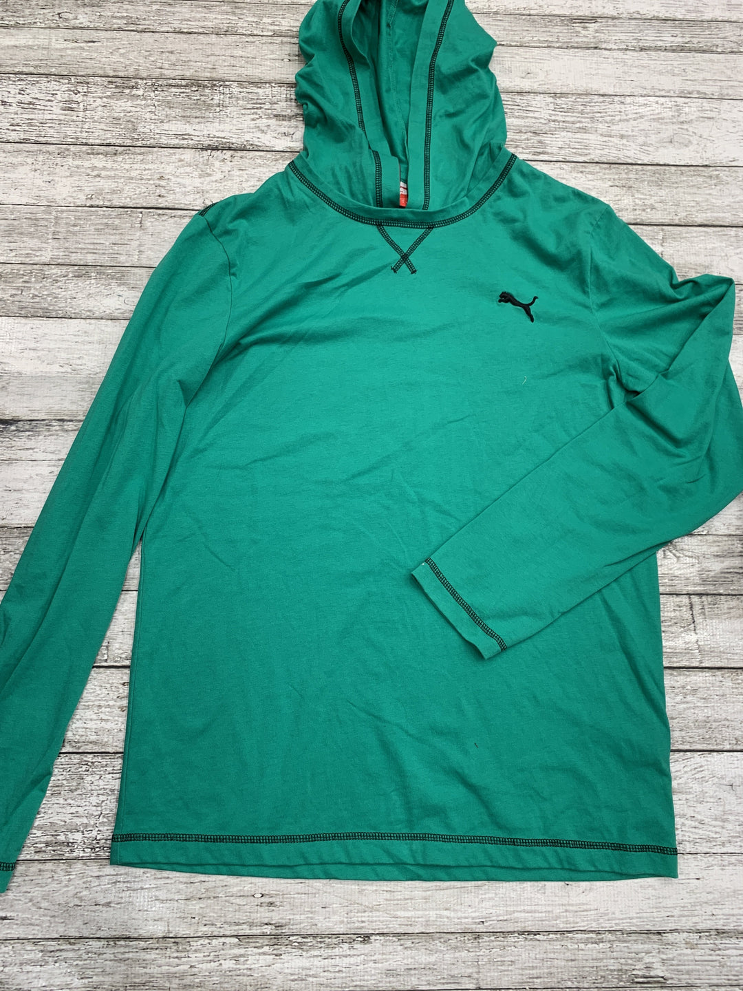 Primary Photo - brand: puma , style: athletic top , color: green , size: s , sku: 126-1881-62037