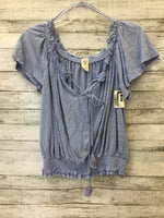 Photo #1 - brand: we the free , style: top short sleeve , color: blue , size: l , sku: 127-4954-329