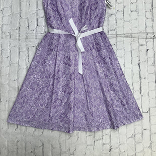 Primary Photo - BRAND: CALVIN KLEIN STYLE: DRESS SHORT SLEEVELESS COLOR: LAVENDER SIZE: M SKU: 126-5001-4098