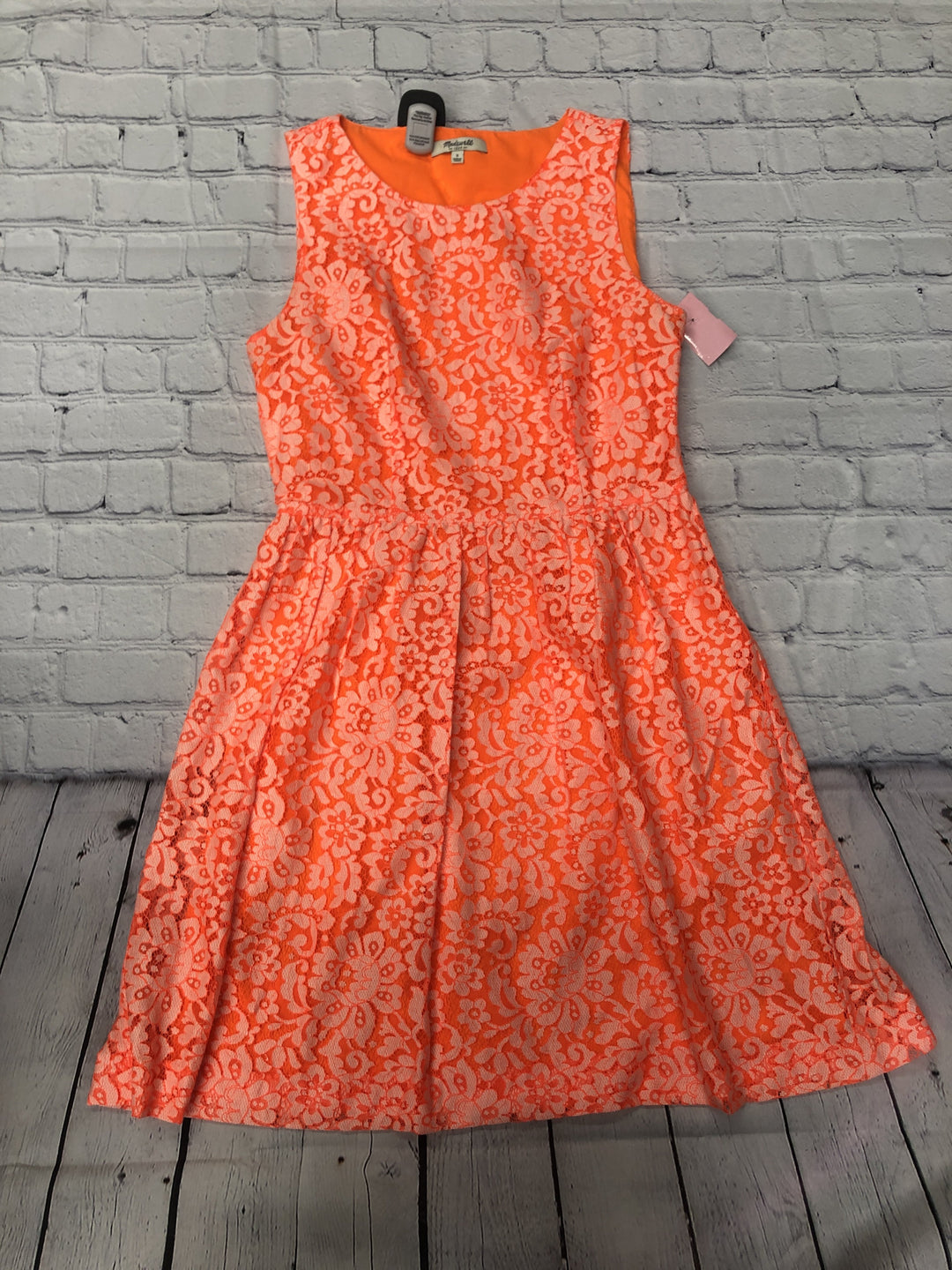 Primary Photo - brand: madewell , style: dress short sleeveless , color: neon , size: 2 , sku: 126-3003-9979