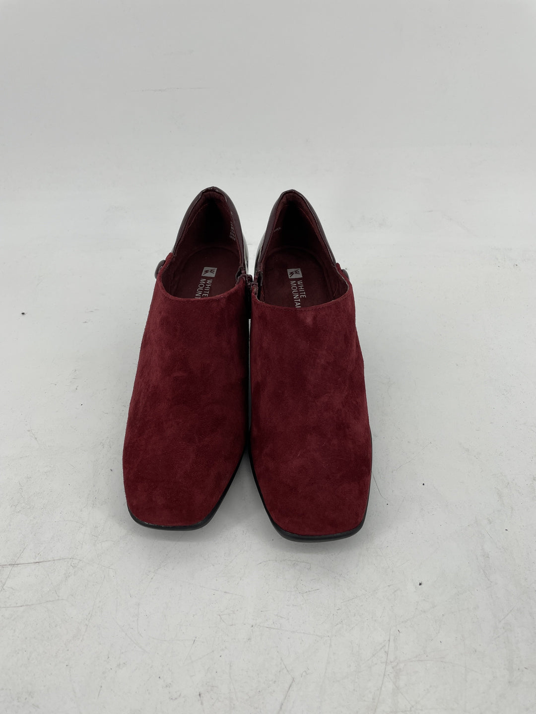 Primary Photo - brand: white mountain , style: shoes low heel , color: maroon , size: 8 , other info: new! , sku: 128-3212-49071