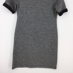 Primary Photo - BRAND: LOU AND GREY STYLE: DRESS SHORT SHORT SLEEVE COLOR: CHARCOAL SIZE: XS SKU: 128-4287-52738