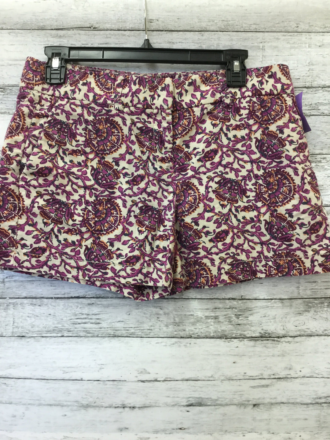Photo #1 - brand: ann taylor loft , style: shorts , color: purple , size: 2 , sku: 125-3916-47043