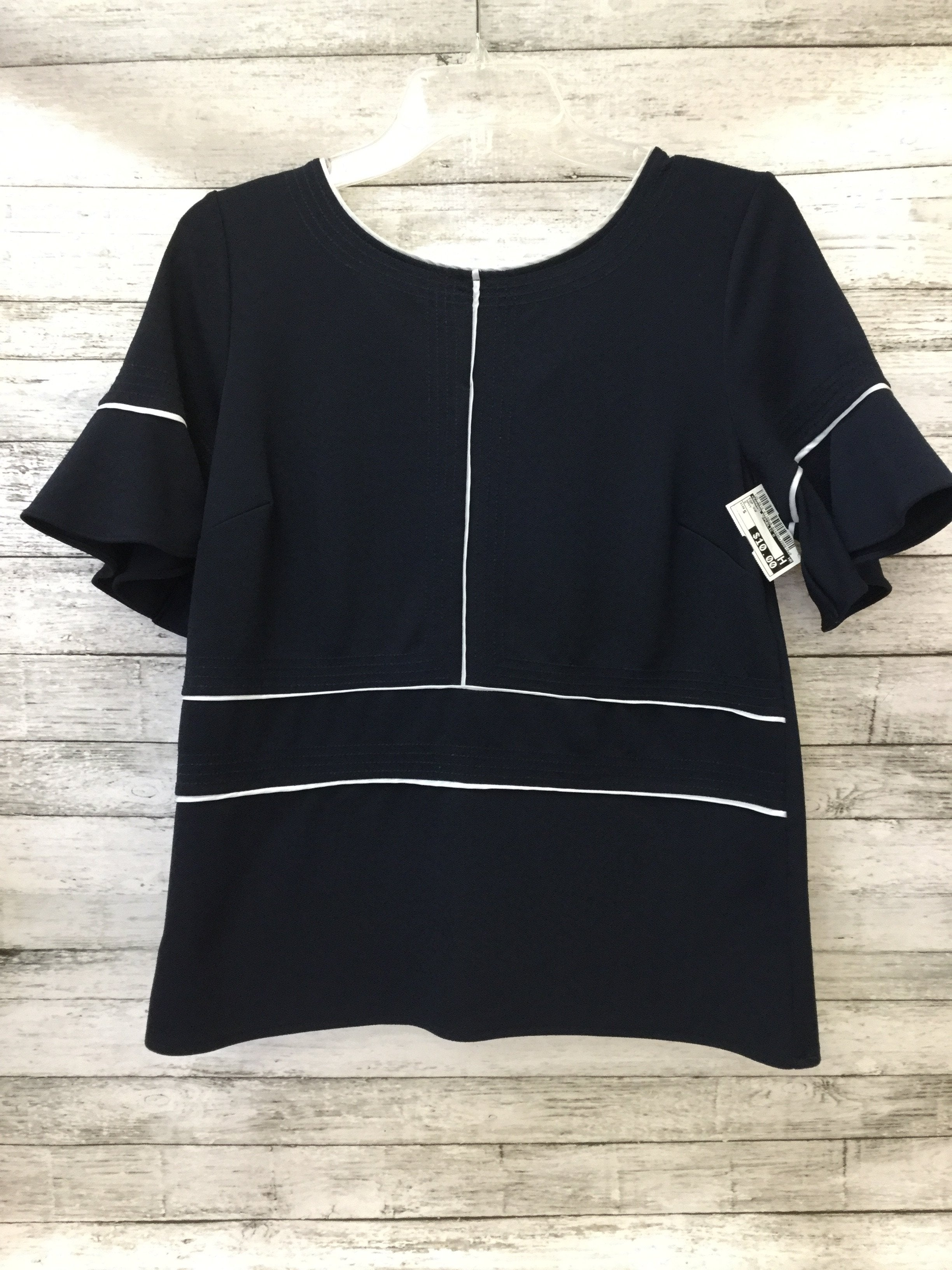 Primary Photo - brand: banana republic o , style: top short sleeve , color: navy , size: s , sku: 125-3916-61160