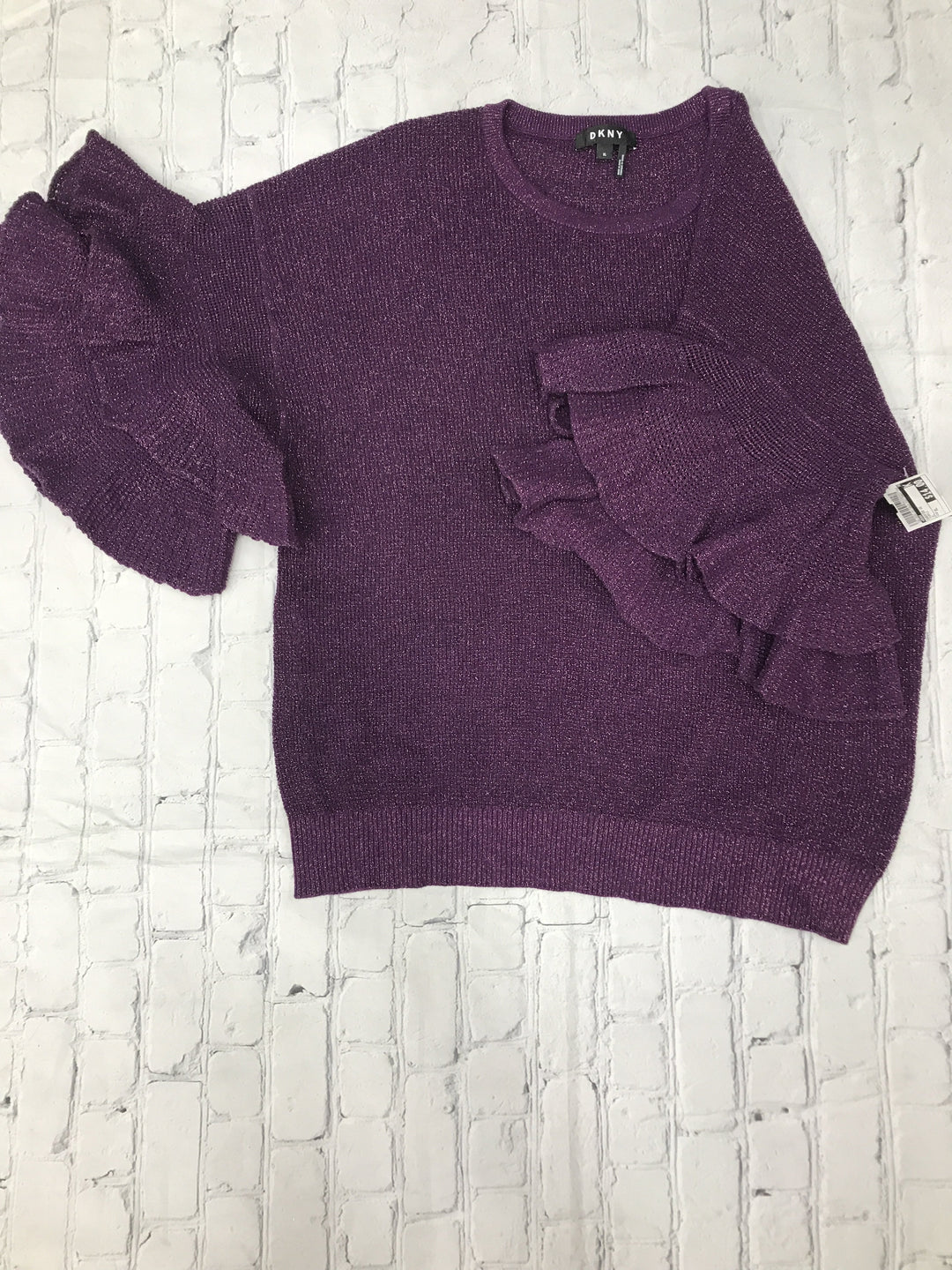 Primary Photo - brand: dkny , style: sweater short sleeve , color: purple , size: xl , sku: 126-2092-181728