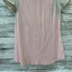 Primary Photo - BRAND: MOTHERHOOD O STYLE: MATERNITY TOP SHORT SLEEVE COLOR: PINK SIZE: S SKU: 125-4628-11091
